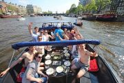 {TAG} - Amsterdam tours - Open boat cruise